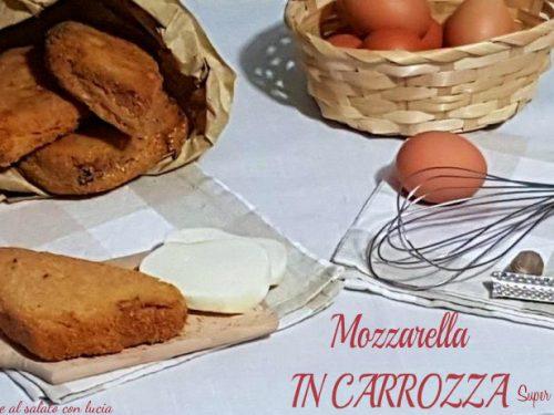 Mozzarella in carrozza, super filante. Ricetta napoletana