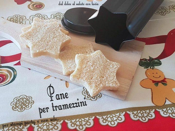 Pane per tramezzini, con stampo party