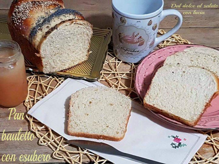 Pan bauletto con esubero di pasta madre