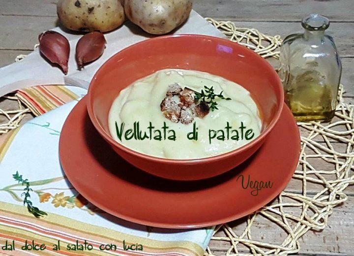 Vellutata di patate vegan