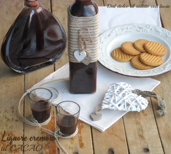 Liquore cremoso al cacao amaro