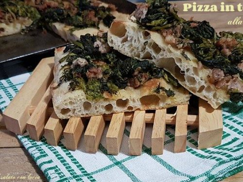 Pizza in teglia alla romana e Pasta madre day