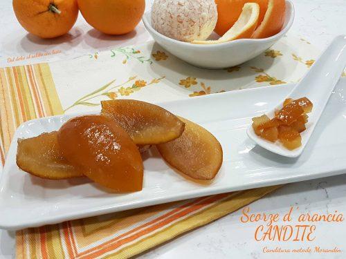 La canditura delle scorze di arance, ricetta e procedimento spiegati passo passo