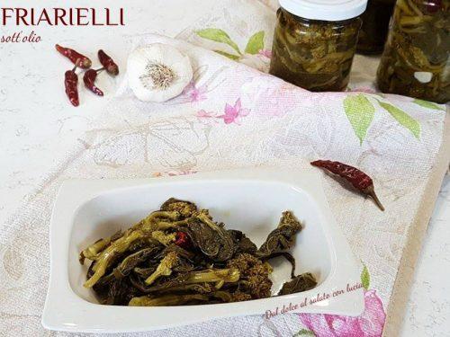 Friarielli sott'olio, ricetta con foto