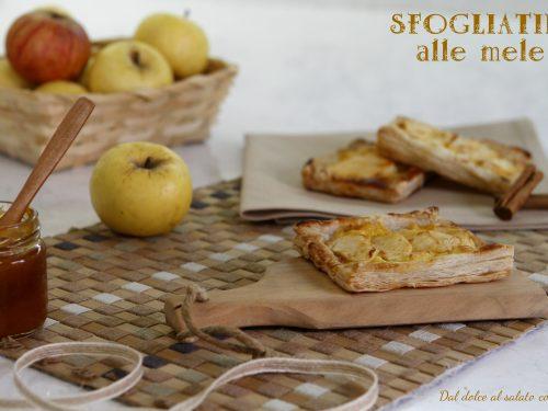 Sfogliatine alle mele, ricetta facile e veloce