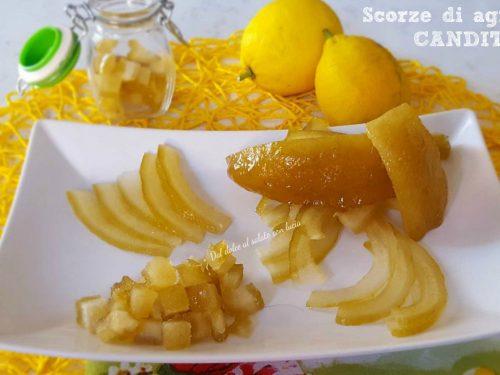Come candire il limone, il cedro e le scorze di agrumi