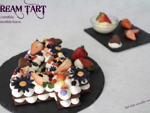 Cream tart e auguri per il quarto compleanno del blog!