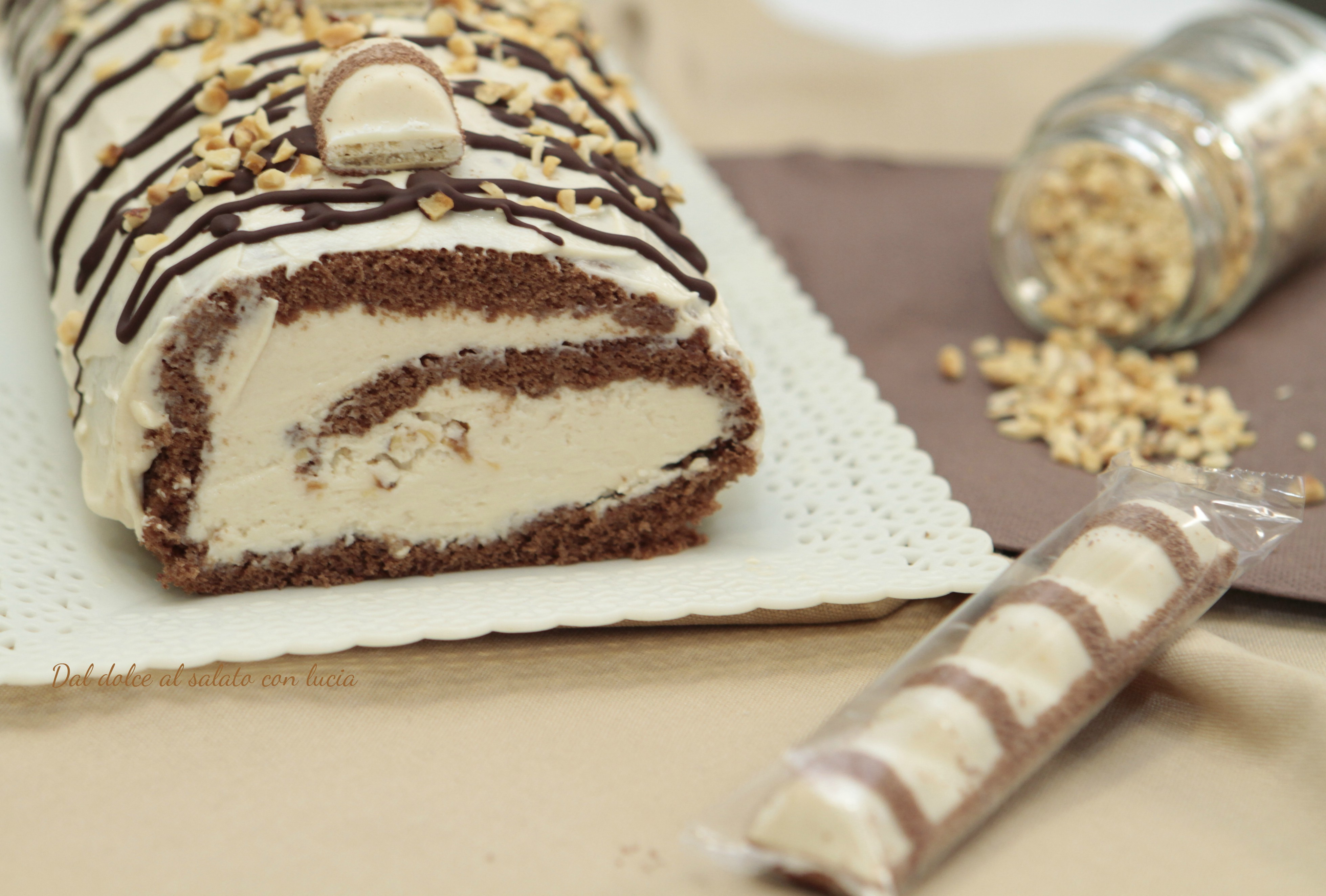 Dolci Da Credenza Biscotti Alle Nocciole : Rotolo kinder bueno dal dolce al salato con lucia