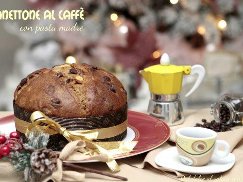 Panettone al caffè con pasta madre