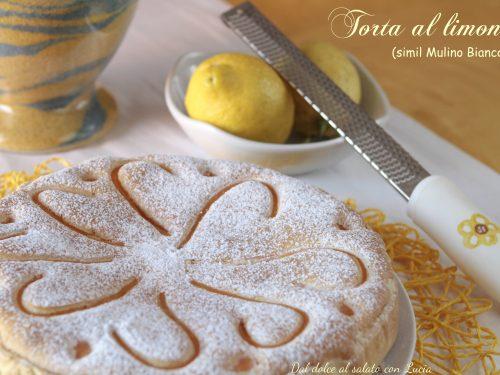 Torta al limone (simil Mulino Bianco)