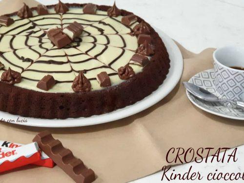 Crostata kinder® cioccolato