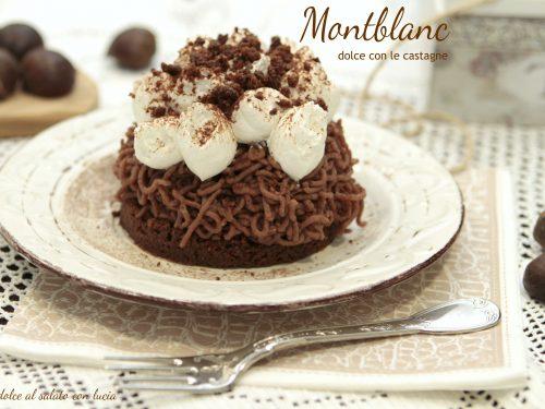 Mont Blanc, dolce con le castagne