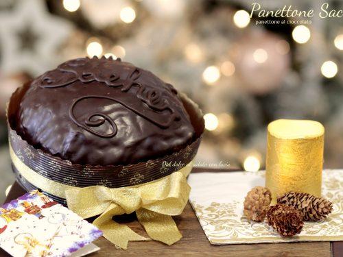 """Panettone """"Sacher"""" , ovvero panettone al cioccolato con pasta madre"""