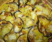 Pasticcio di patate e melanzane