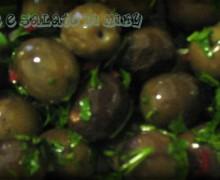 Olive condite piccanti