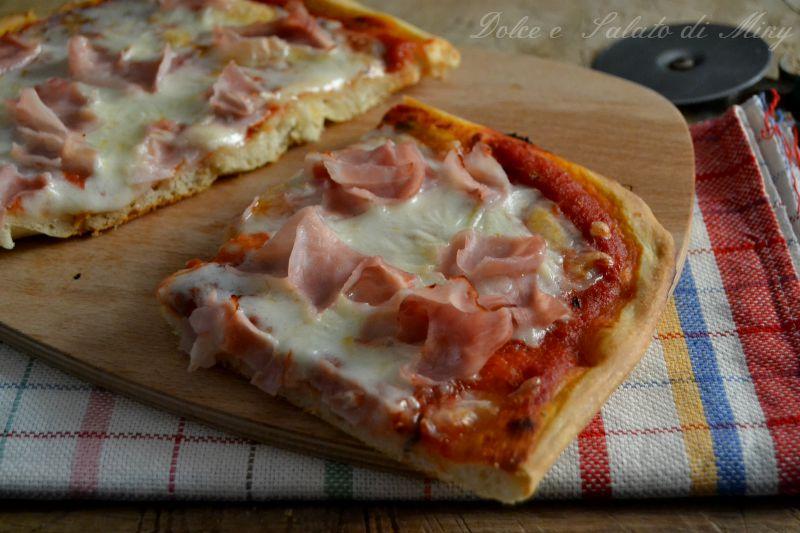 Pizza con prosciutto dolce e salato di miky for Pizza con planetaria