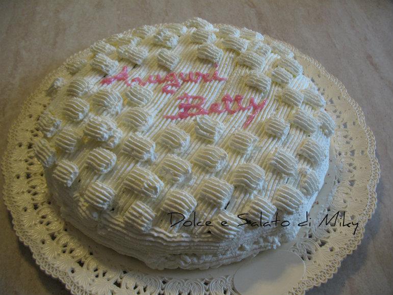 Torta cioccolato e panna ricetta dolce for Decorazioni di torte con panna montata