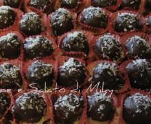 Pasticcini cocco e cioccolato, ricetta dolce