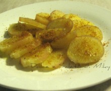 Patate con Bottarga
