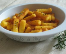 Polenta chips, ricetta finger food