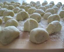 Gnocchi di patate alla menta