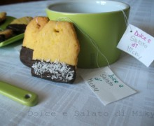 Biscotti bustina di tè