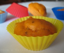 Muffin salati alla pizza