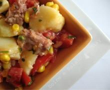 Insalata di carne e patate