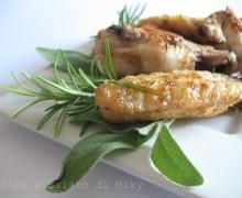 Pollo dorato come al forno