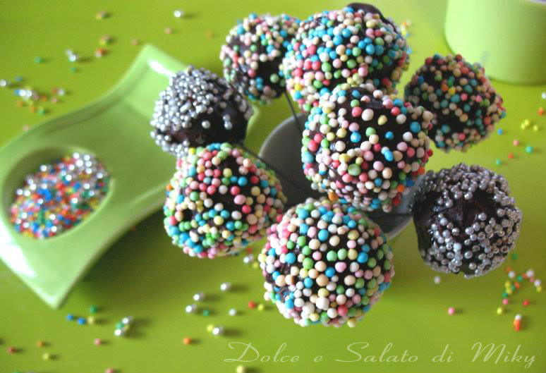 Cake Pops alla nutella di Dolce e Salato di Miky