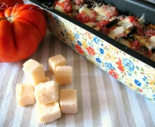 Melanzane grigliate  alla parmigiana con aromi