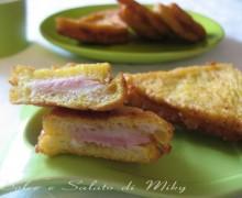 Toast fritti, ricetta finger food