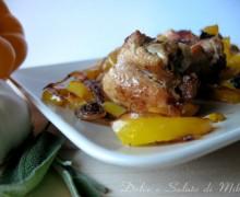 Pollo e peperoni, ricetta secondo piatto