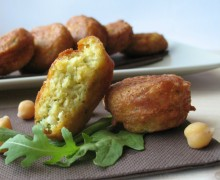 Frittelle di ceci, ricetta finger food