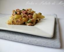 Pasta con tonno pancetta e zucchine