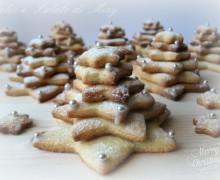 Biscotti, alberi di Natale