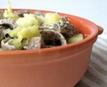Pizzoccheri con verza e patate