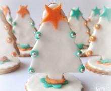 Alberelli di Natale decorati