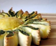 Girasole agli spinaci