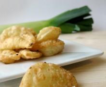 Piadine fritte ai cipollotti