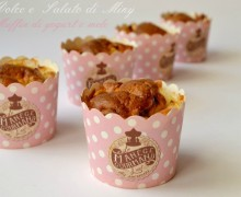 Muffin di yogurt e mele