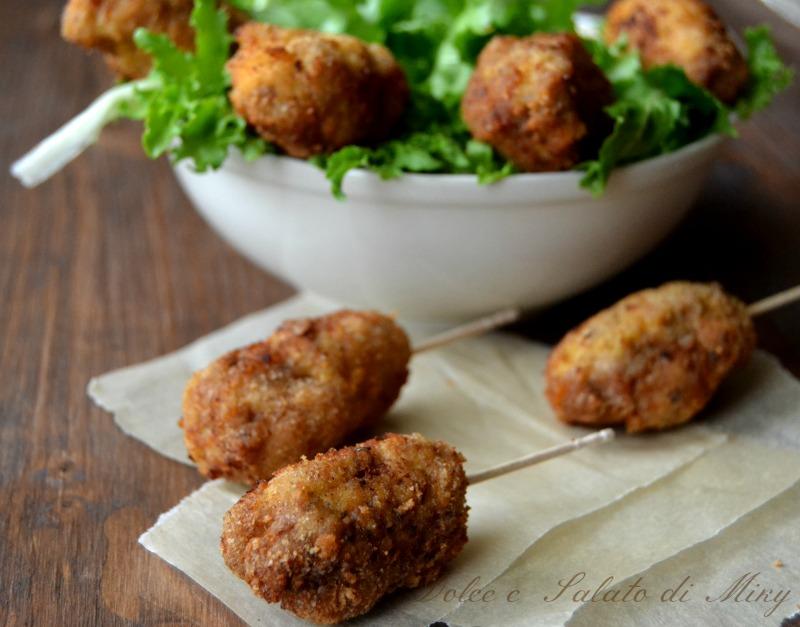 ricetta polpette stecco kebab | Dolce e Salato di Miky