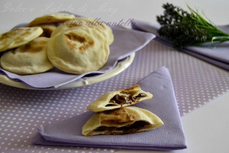 Ricetta Focaccine alla nutella in padella   Dolce e Salato di Miky