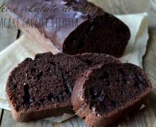 Plumcake cacao e ricotta