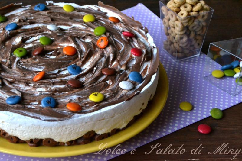 ricetta torta fredda crema e cioccolato| Dolce e Salato di Miky