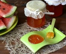 Confettura con bucce di anguria