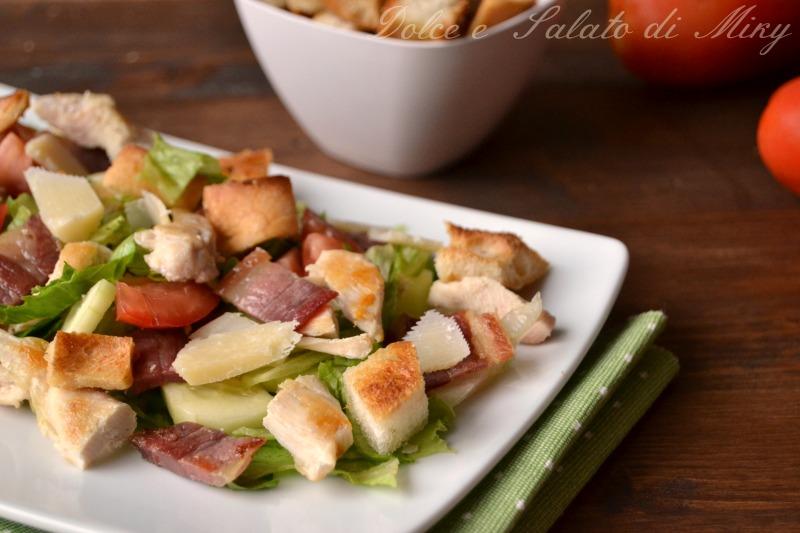 ricetta insalata mista al bacon| Dolce e Salato di Miky