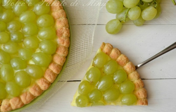 Crostata all'uva