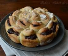 Fiore di pane alla nutella