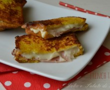 French toast salati